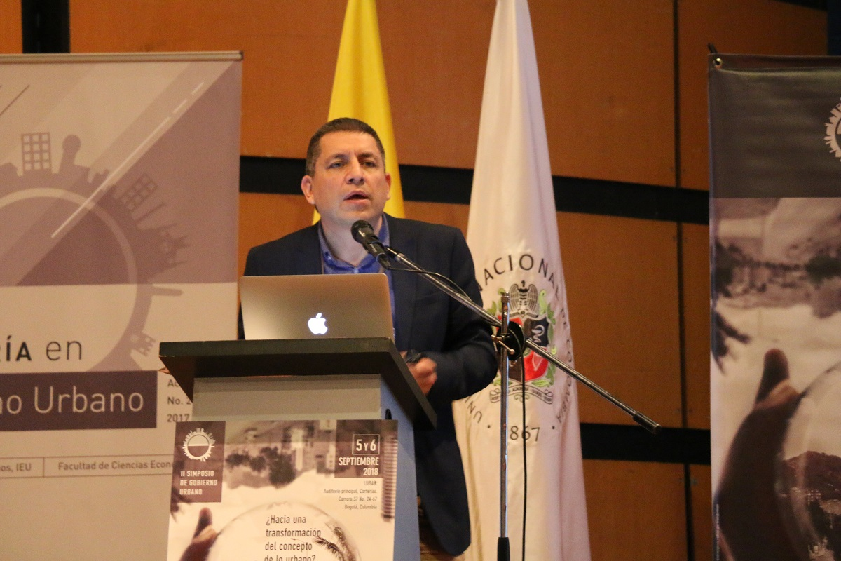 Profesor Jesús Rodríguez Cepeda / foto IEU