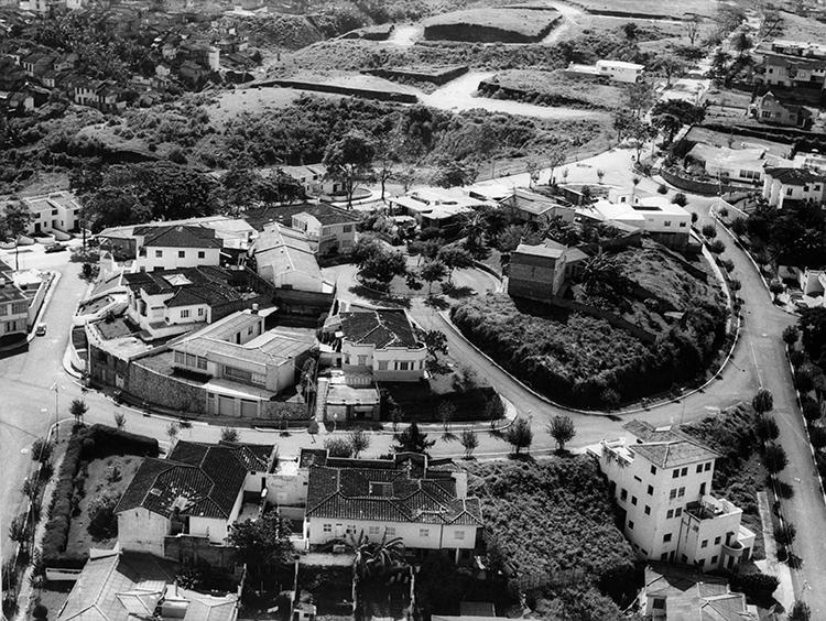 José García Jaramillo / Barrio Los Alpes 1960 / Archivo Fotográfico Javier García Jaramillo