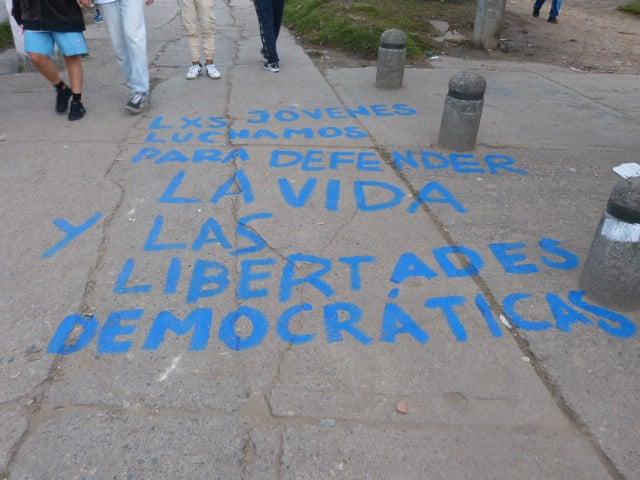 Las ciudades han sido escenario de demandas y críticas de la juventud en el país / Foto Tatiana Pineda - Tras la Lente