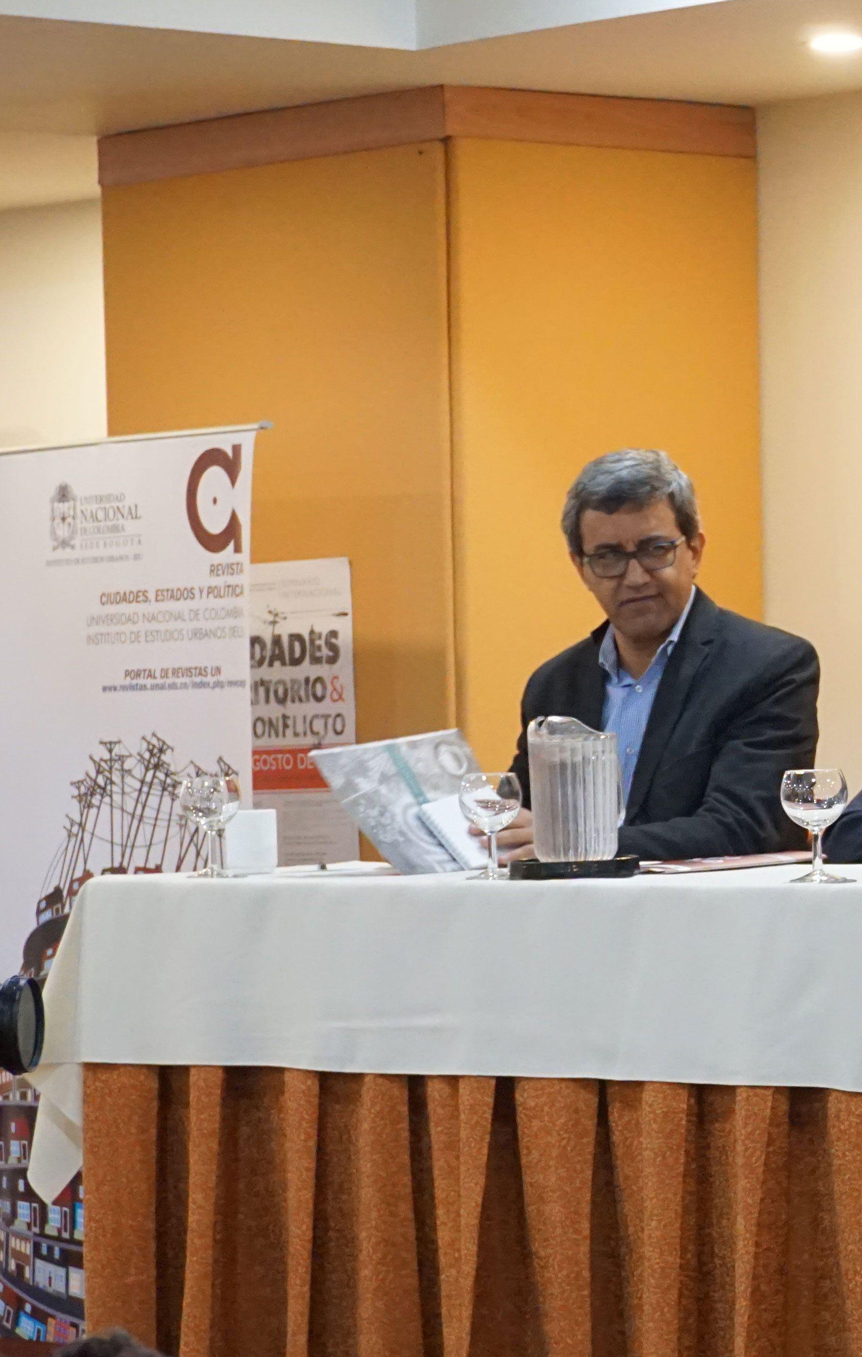 Profesor Luis Fernando González Escobar, UN sede Medellín