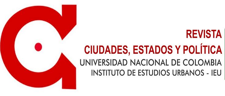 Revista Ciudades, Estados y Política. - Vol. 1, núm. 1 (2014)