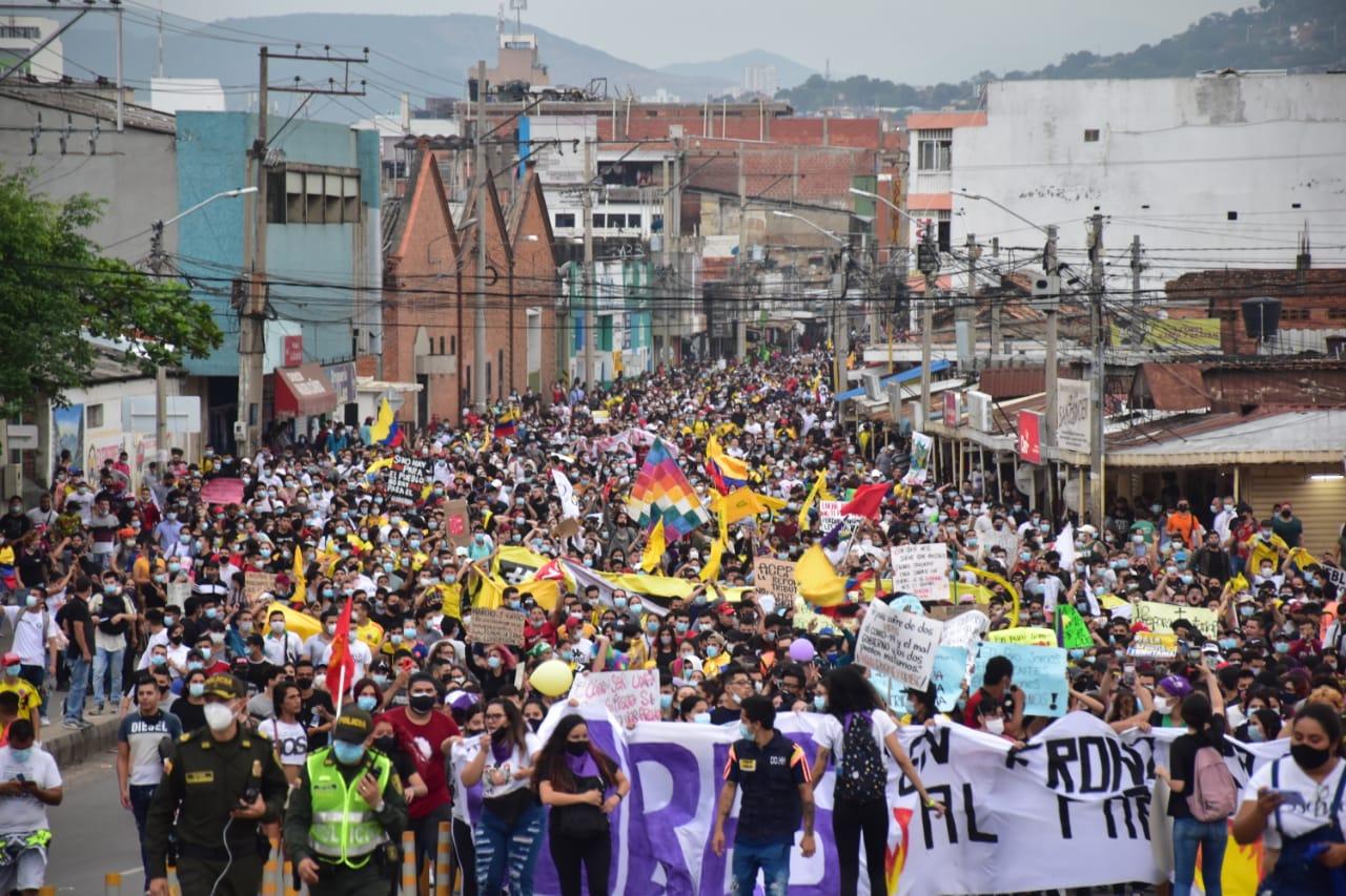 Manifestaciones en Cúcuta / Foto cortesía Lilibeth Villamizar