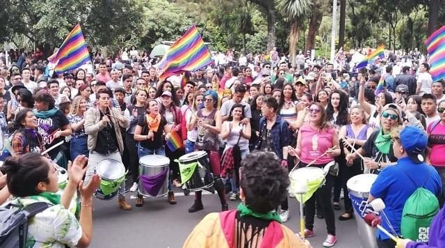 Marcha del Orgullo LGBTIQ 2019, Bogotá / Foto Angie Caicedo