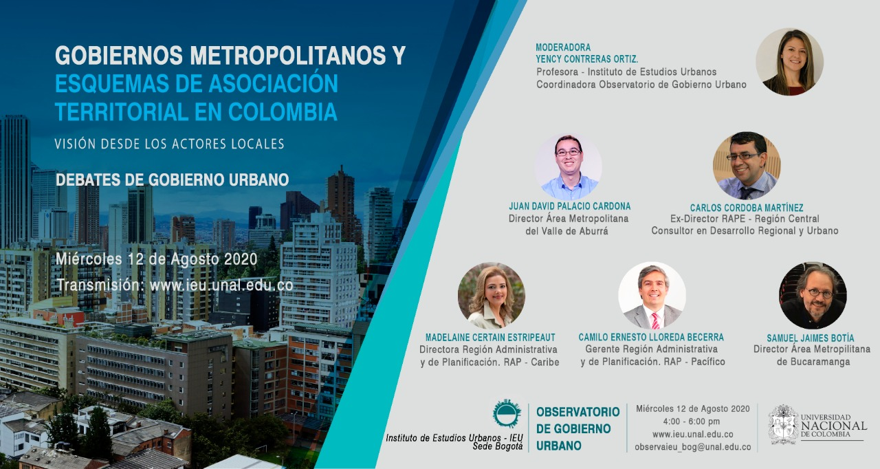 Mesa de expertos Debates de Gobierno Urbano