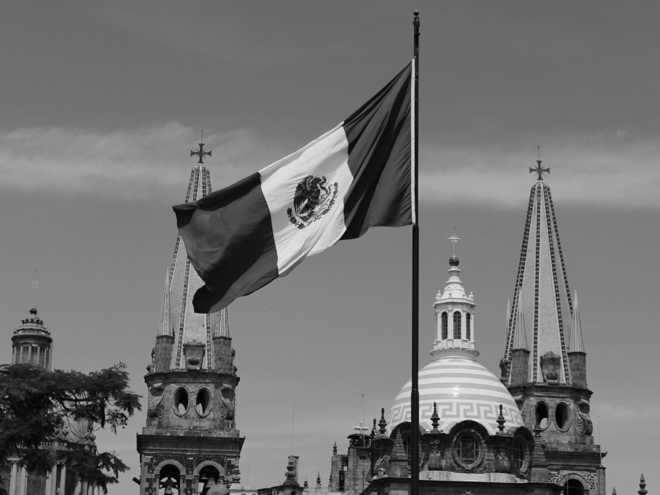 Viesca, E. (2014). [Bandera mexicana, Plaza Liberación, Guadalajara, Jalisco]. Recuperado a partir de http://archive.org/details/gdl2014
