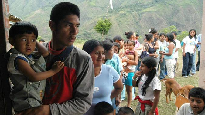 Foto tomada de la CEPAL - Migrantes