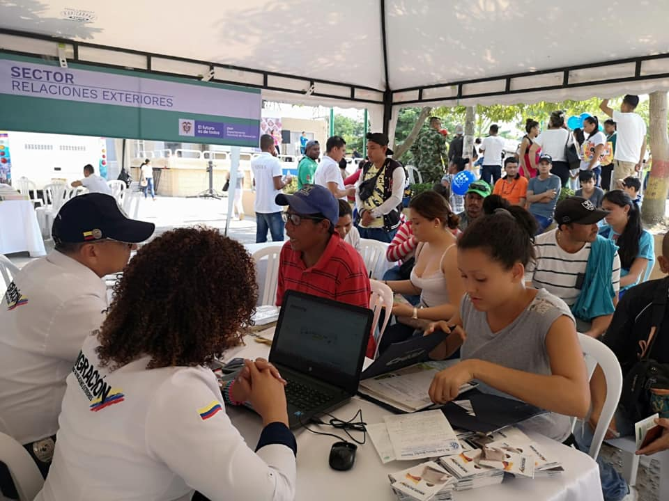 Foto Migración Colombia