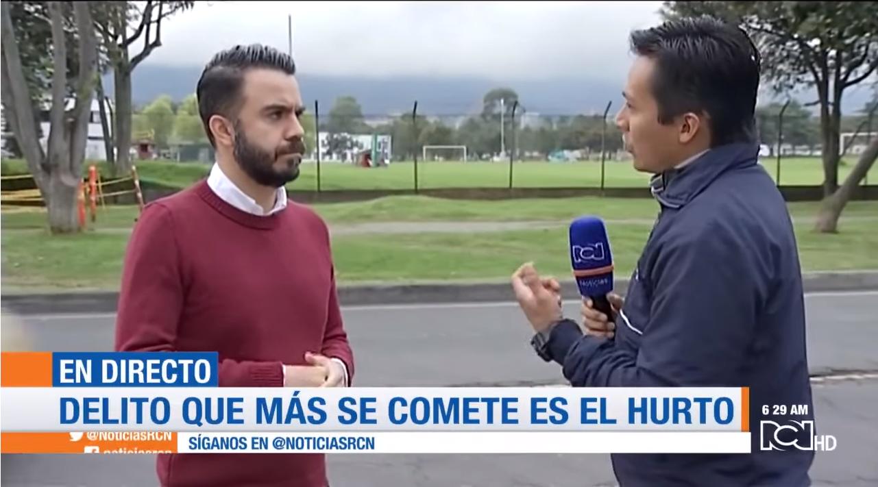 Profesor Miguel Silva Moyano en Noticias RCN