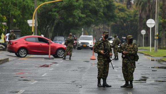 Militarización en Cali / Foto AFP