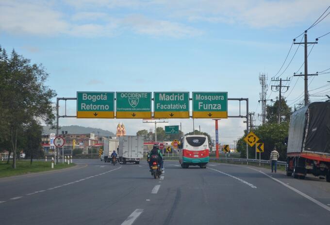 Movilidad en la Sabana de Bogotá / Foto referencial