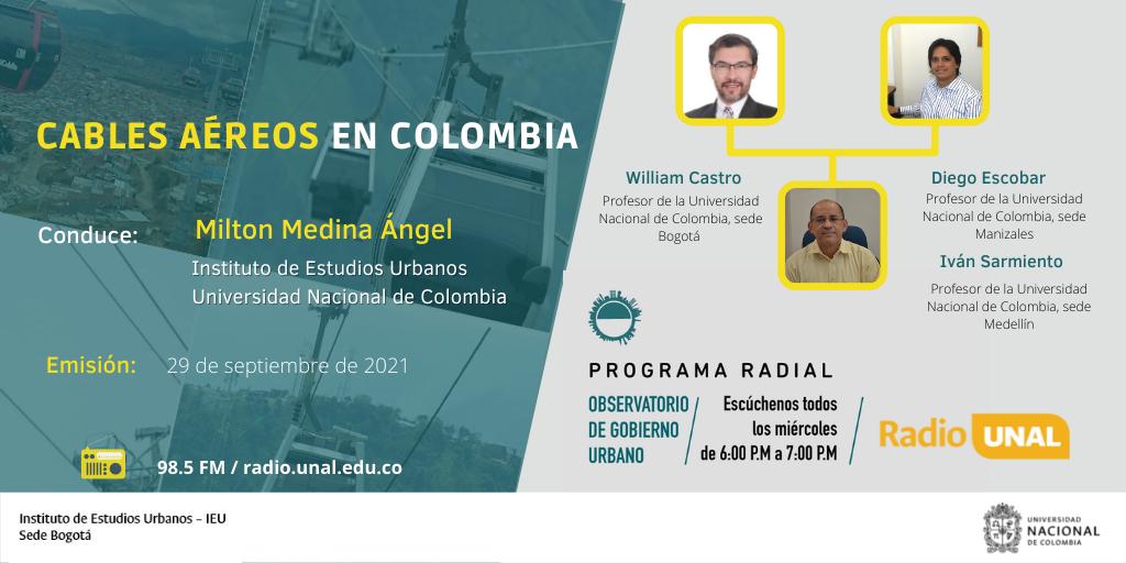 Transformación urbanística, la clave del éxito de los sistemas de cables aéreos en Colombia
