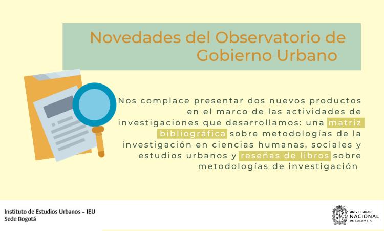 Observatorio de Gobierno Urbano