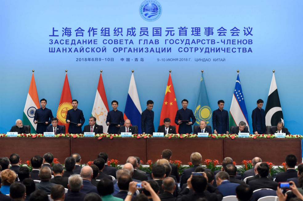 Organización de Cooperación de Shanghai / Foto AFP