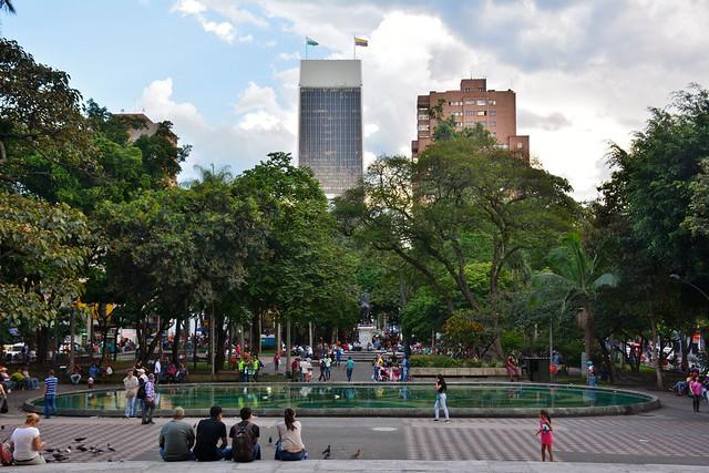 Parque Bolívar de Medellín / Flickr
