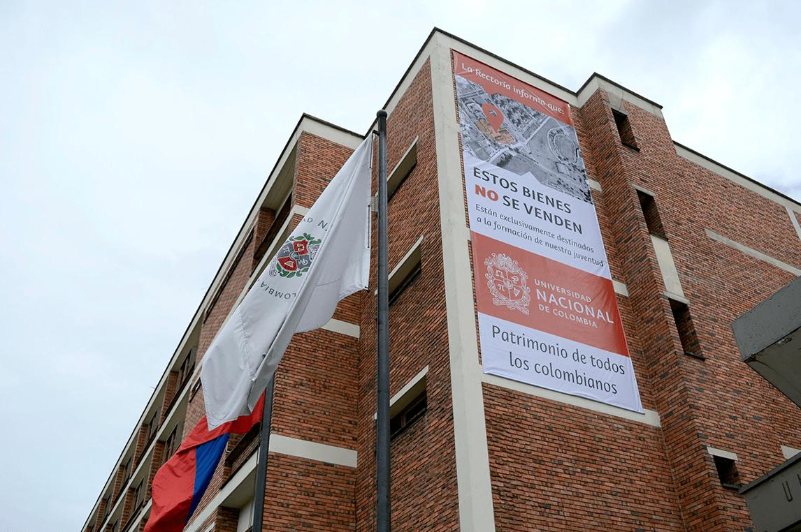 """""""La U.N. no se vende"""": rector Mantilla defiende predios de la Institución frente a proyecto CAN"""