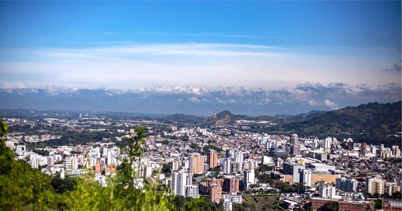 Pereira vista desde el Cerro Canceles / Foto Área Metropolitana de Centro Occidente
