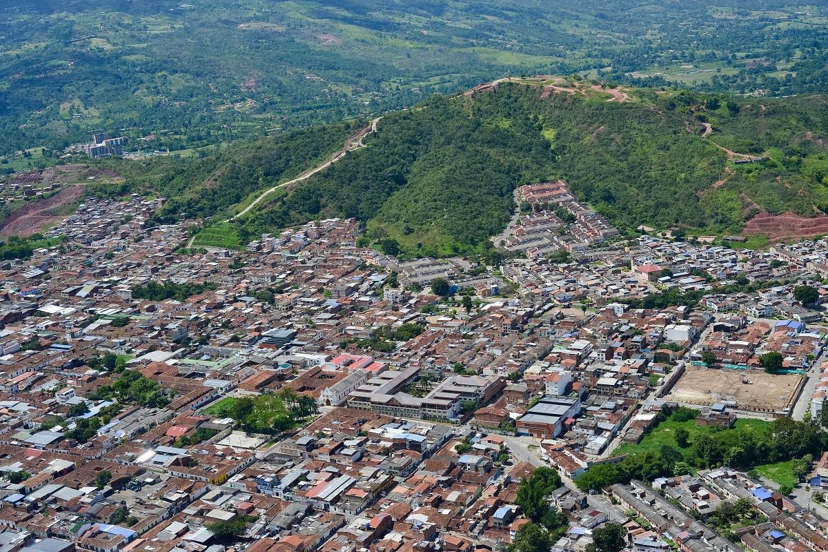 Desarrollo urbano en Piedecuesta, Santander / Foto César Mauricio Olaya Corzo