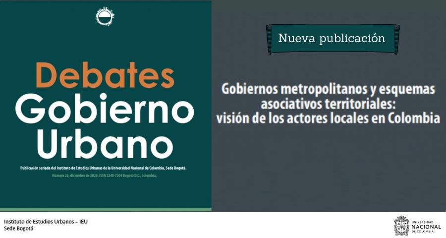 Debates de Gobierno Urbano