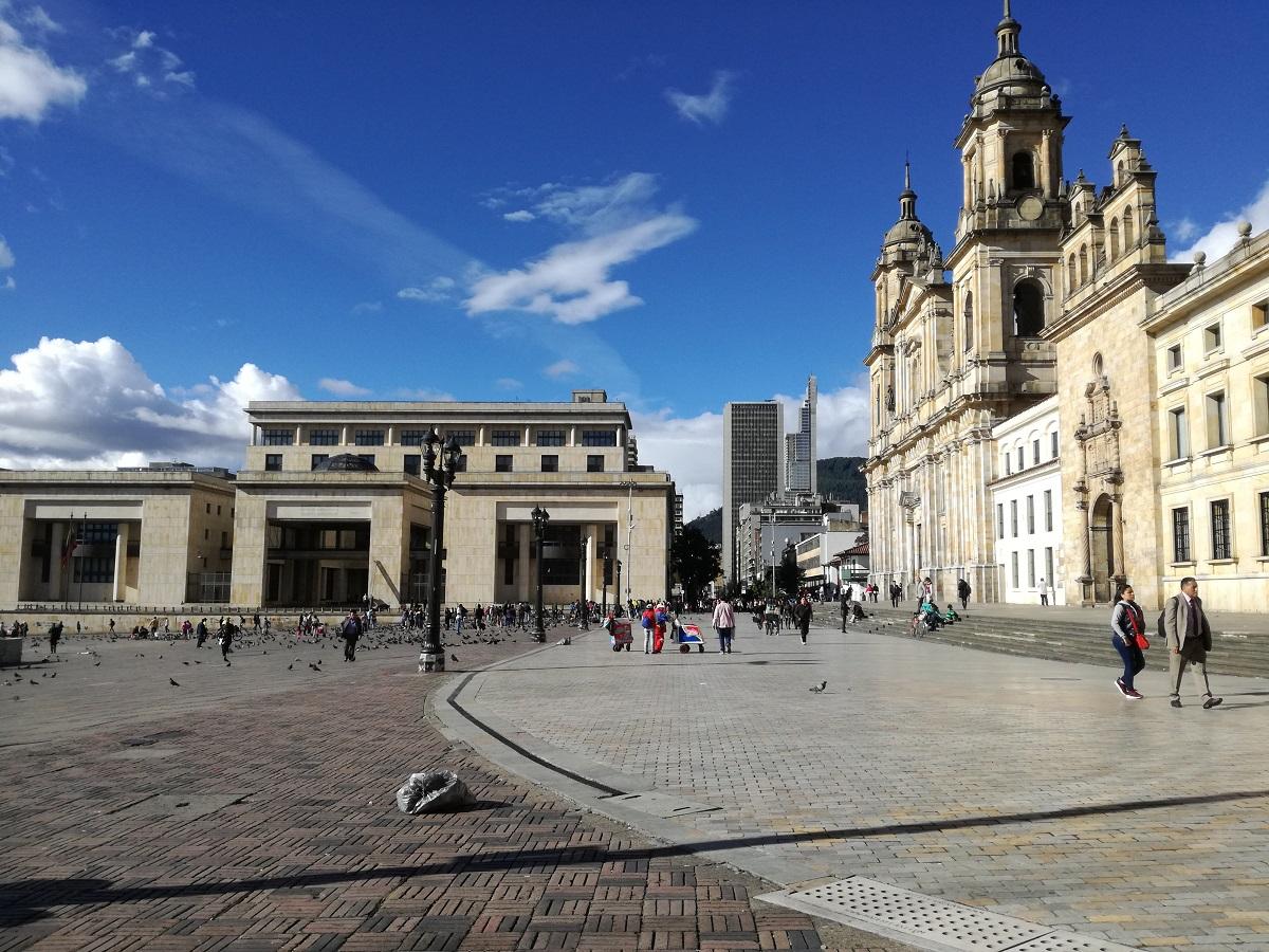 Plaza de Bolívar de Bogotá / foto IEU