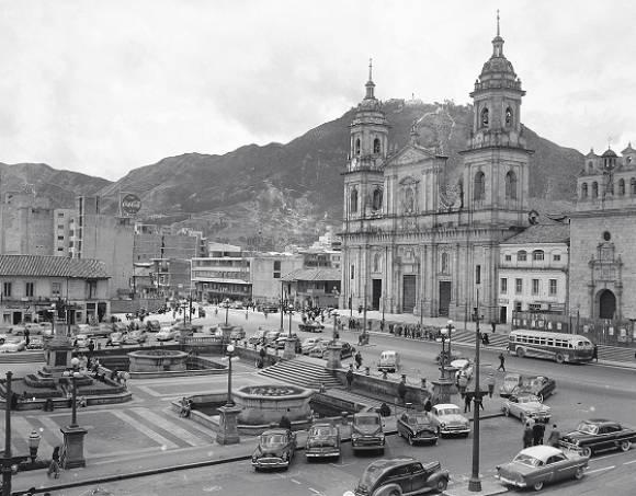 Plaza de Bolívar de Bogotá / Foto tomada de UN Periódico Digital