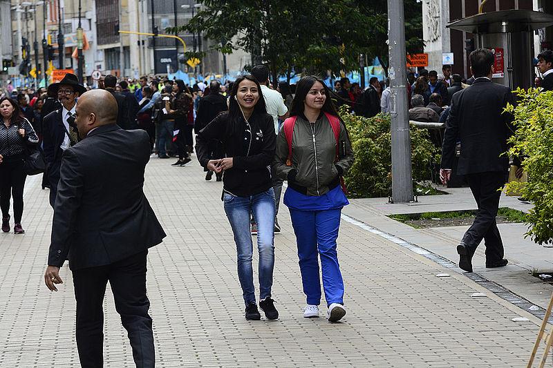 Colombia tiene 48.258.494 habitantes, según el Censo 2018 / foto Nicolás Bojacá - Unimedios