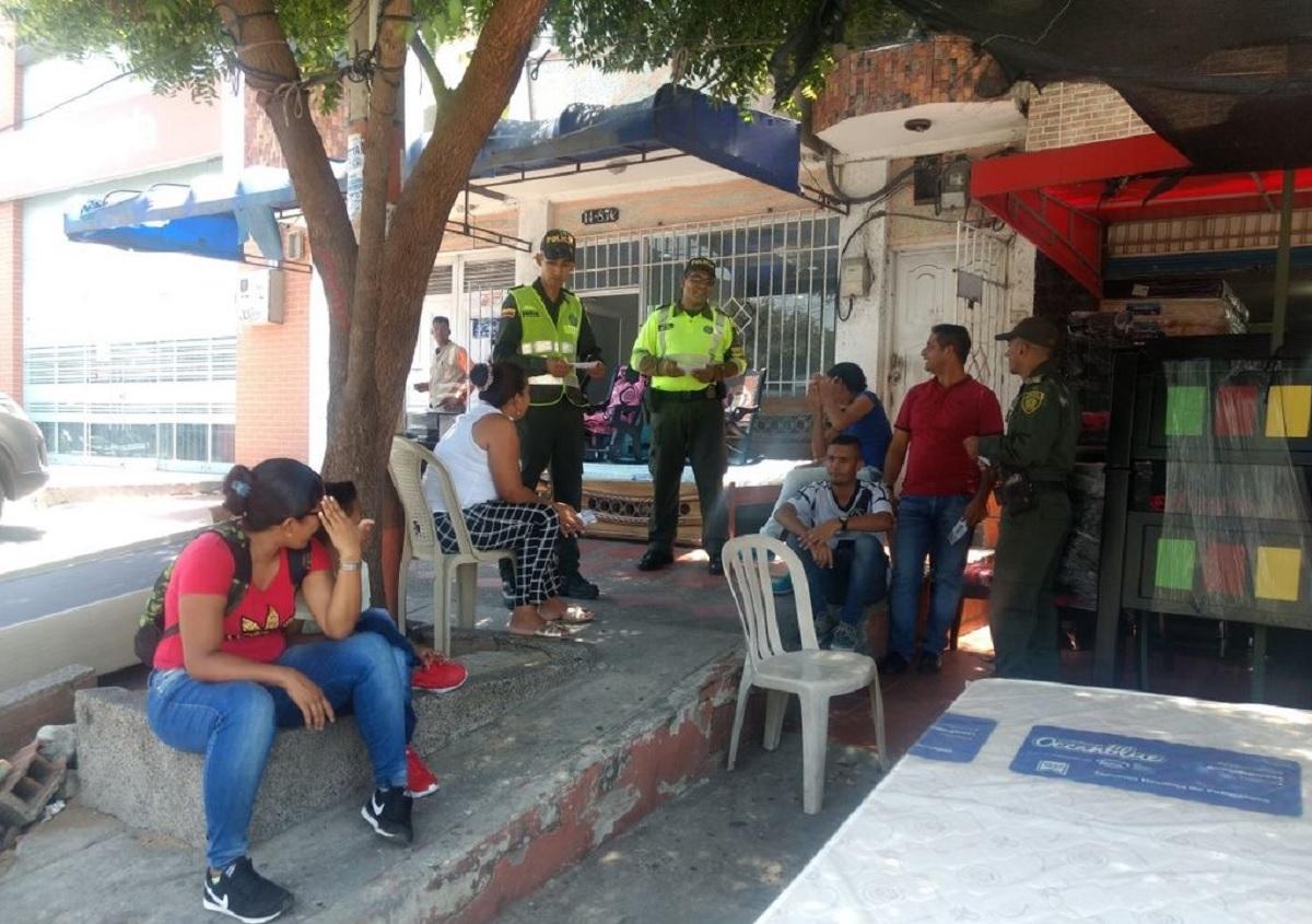 Foto Policía Metropolitana de Barranquilla