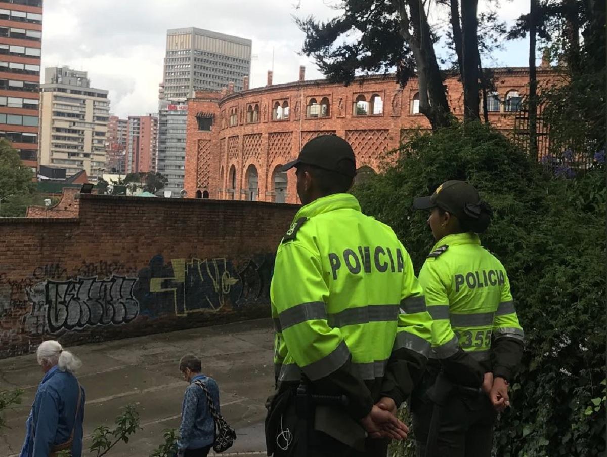 Policía Metropolitana de Bogotá - Foto @PoliciaBogota
