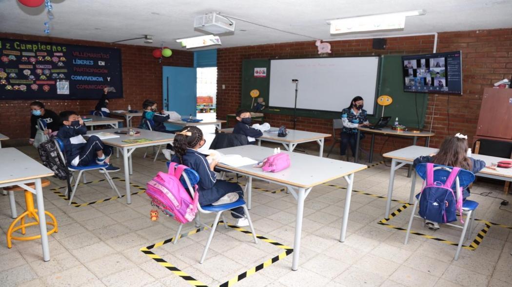 Regreso presencial a los colegios en Bogotá / Secretaría de Educación