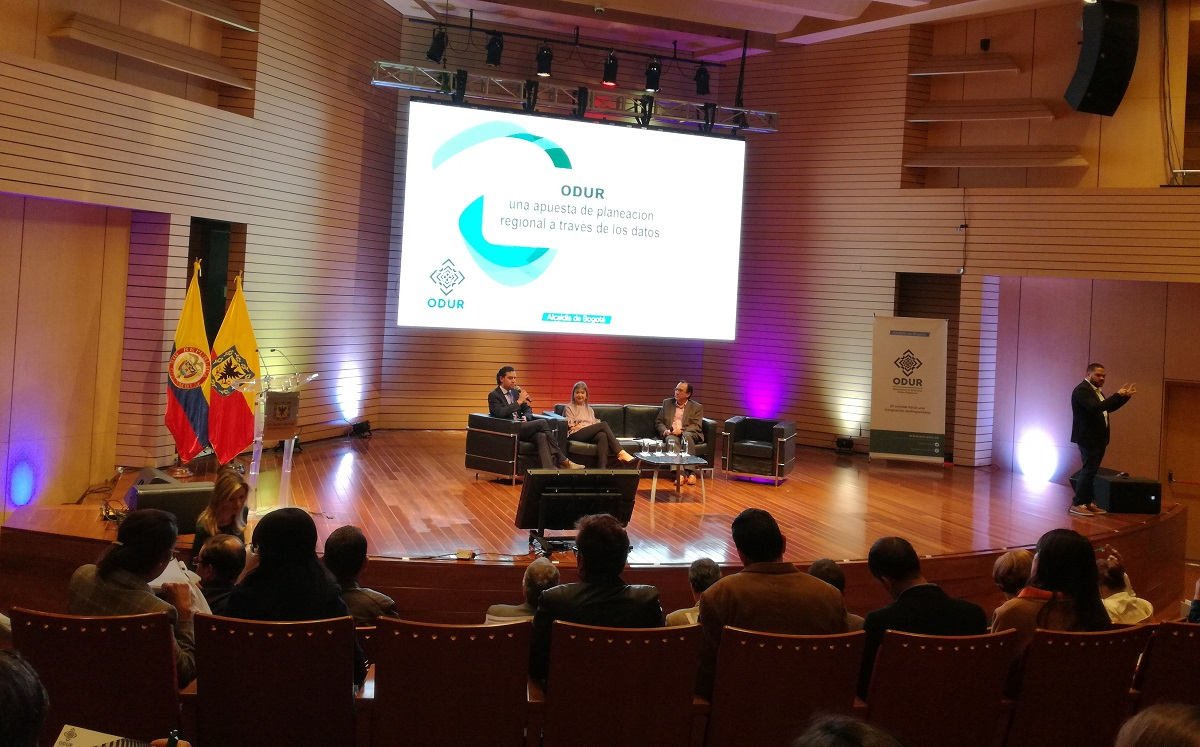 Presentación de ODUR en la Alcaldía Mayor de Bogotá / Foto IEU