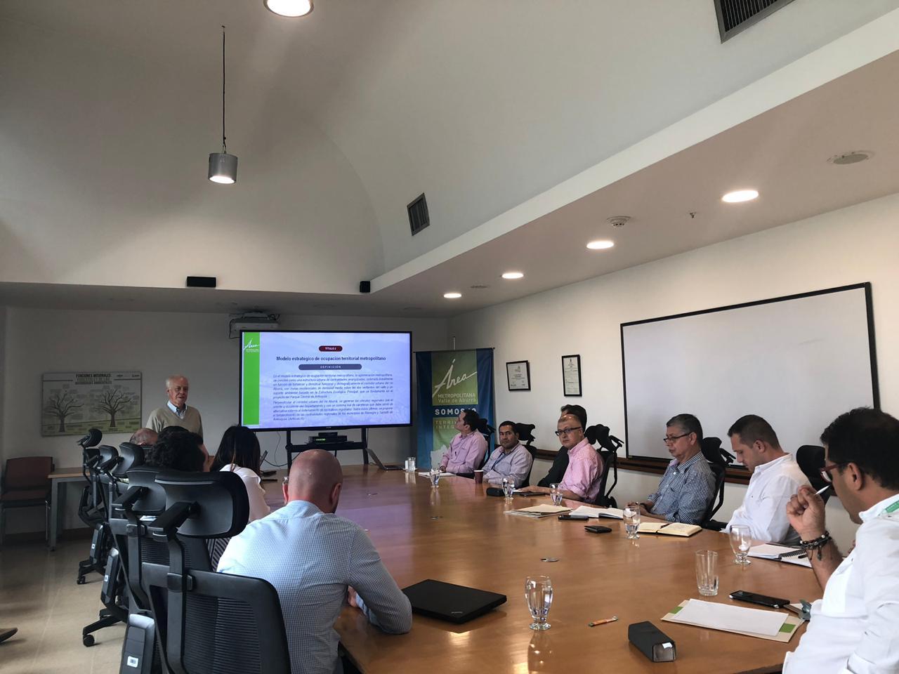 Presentación del Proyecto de Acuerdo Metropolitano que reglamenta el PEMOT / Foto IEU