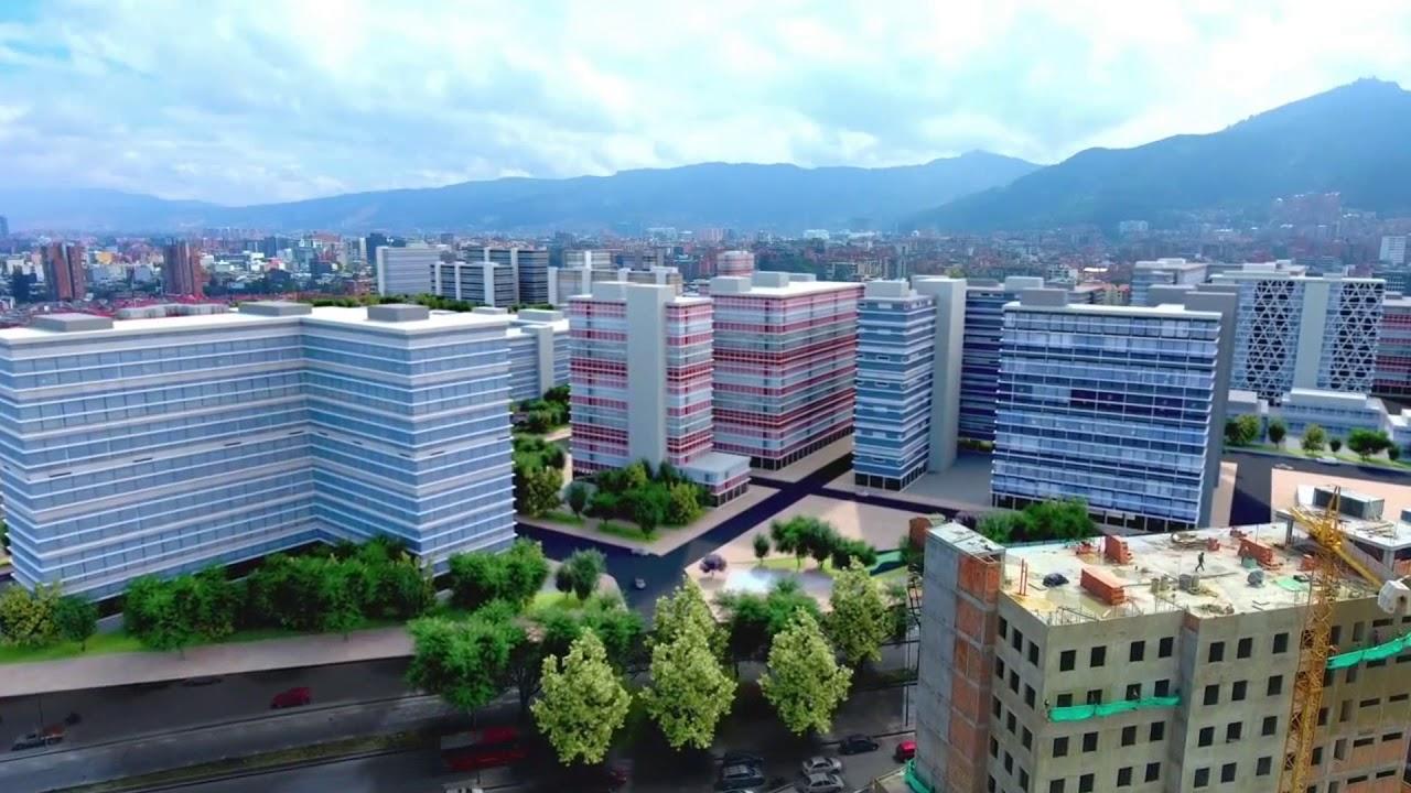 Proyecto Alameda entre parques / Foto Alcaldía de Bogotá