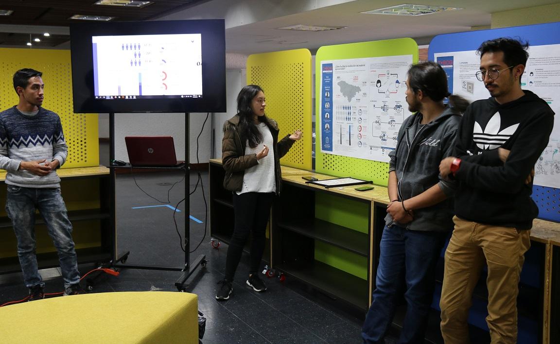 Presentación del proyecto Recolección inteligente de material aprovechable / Foto IEU