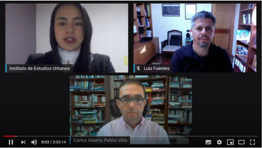 Transmisión Seminario Gobierno Metropolitano Bogotá-Santiago: dos miradas, un fenómeno urbano