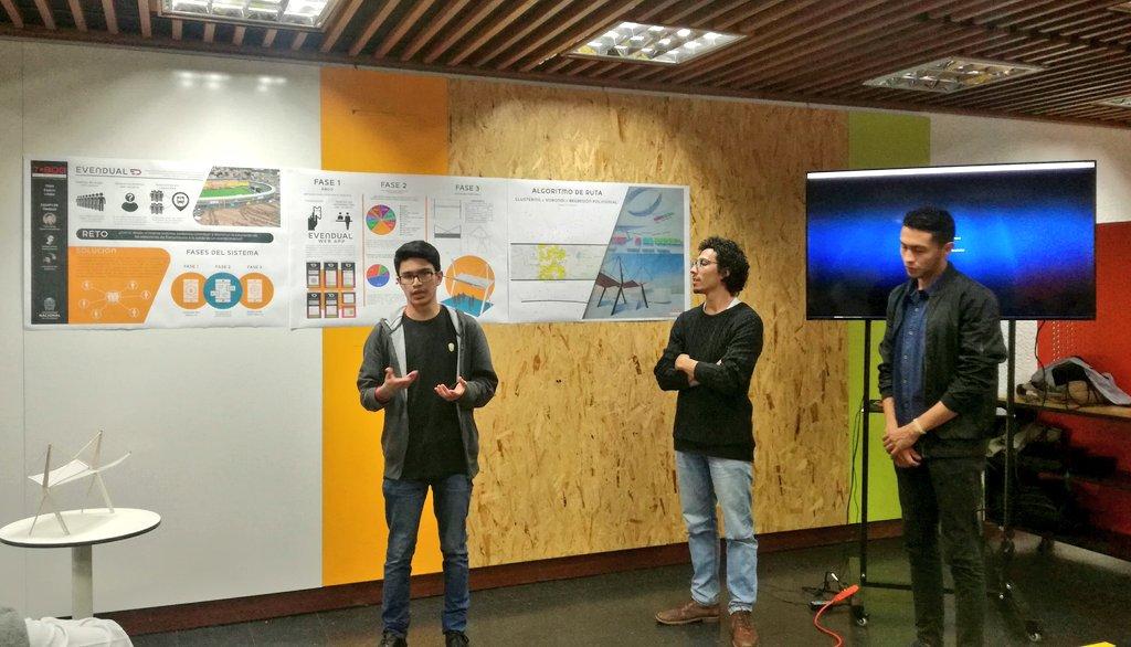 Presentación de Evendual en el Taller Bogotá