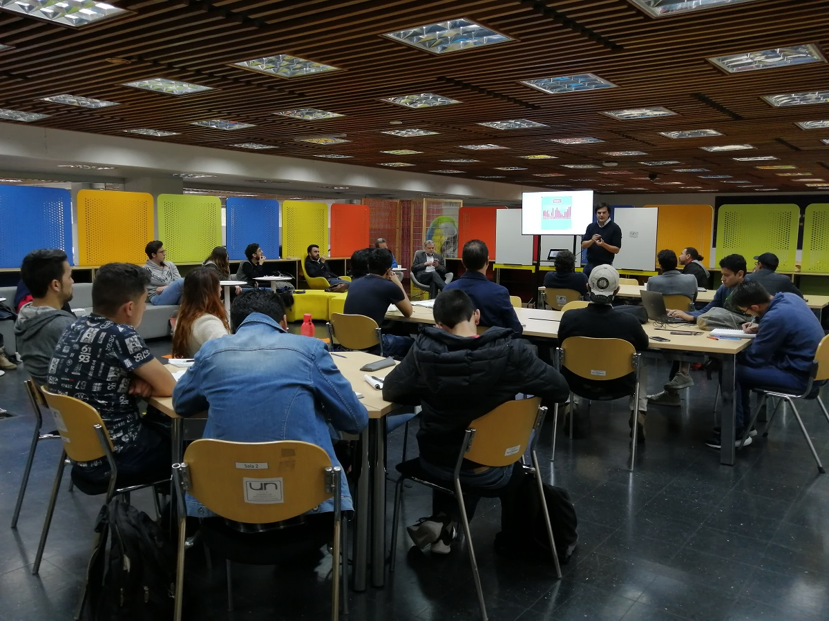 Segunda charla abierta del Taller Bogotá / Foto IEU