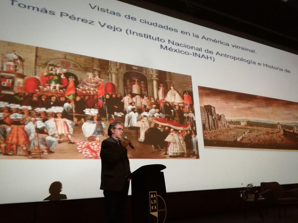 Profesor Tomás Pérez Vejo / Foto IEU