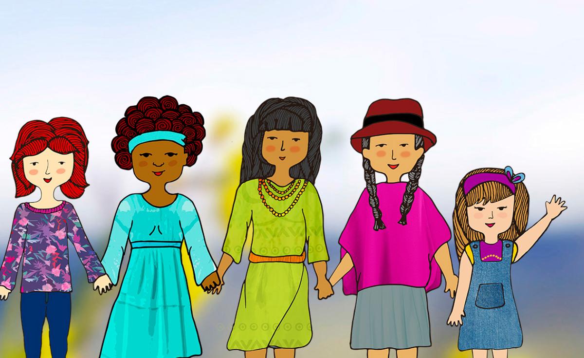 Ilustración tomada de la Universidad de Nariño / https://www.udenar.edu.co/panorama-de-las-mujeres-en-las-subregiones-de-narino/