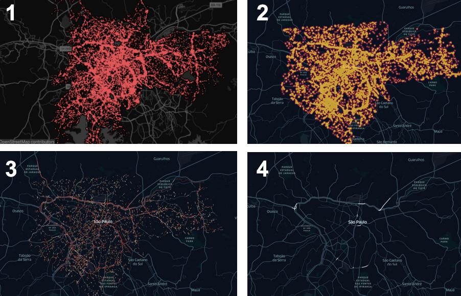 Trabajo sobre datos brutos hasta que se consideren datos útiles. Sao Paulo / Tomada del BID