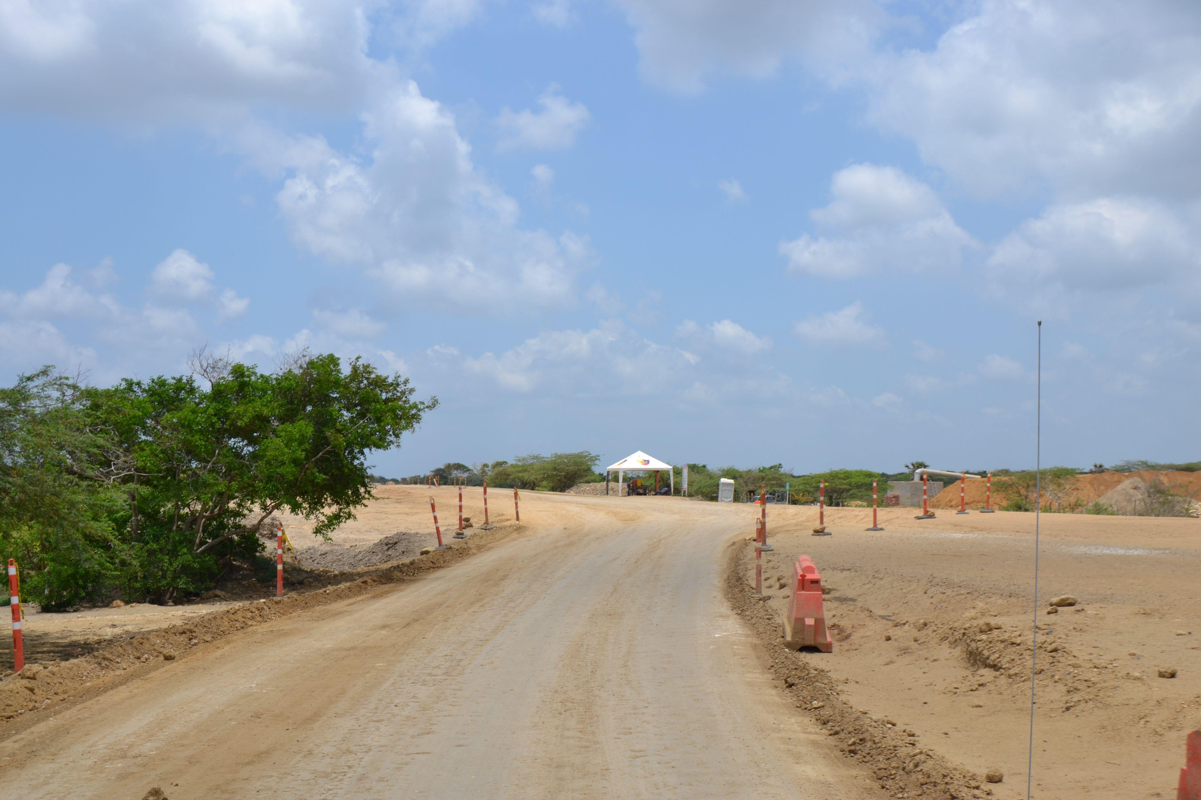 Foto: DNP- Mejoramiento Vía Salamina - Remolino - Sitionuevo en el Magdalena