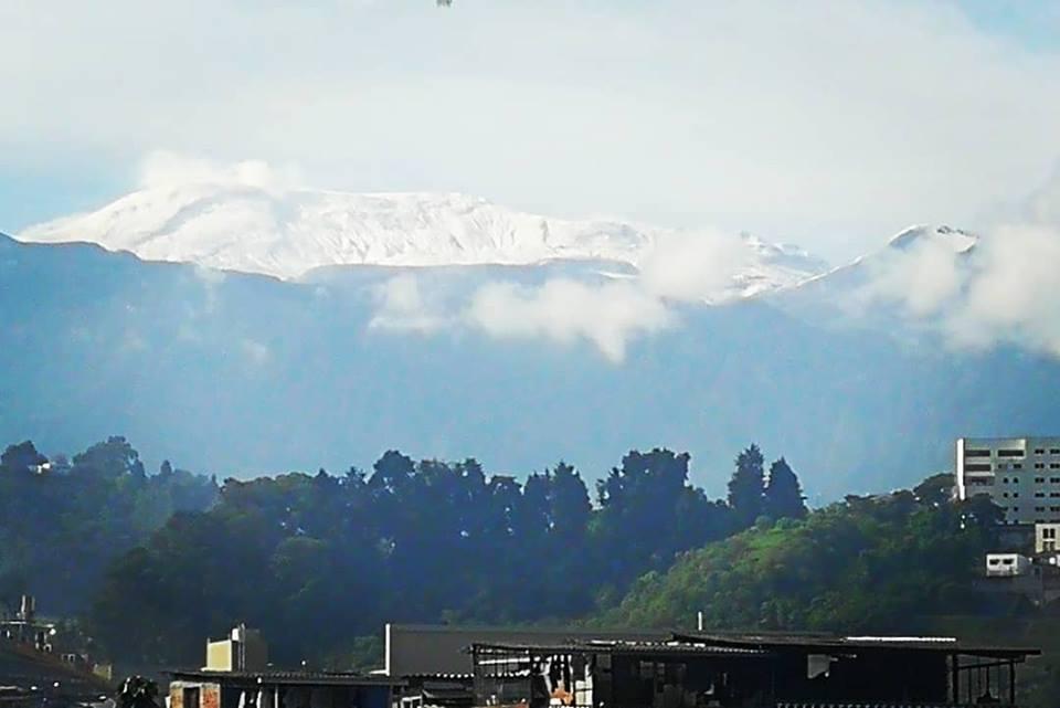 Volcán Nevado del Ruiz / Foto José Fernando Giraldo