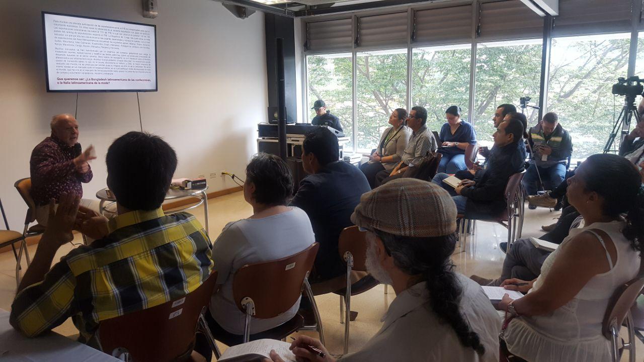 Taller Diálogos Ciudadanos: Articulación con el entorno. Foto Fredy Amariles, oficina asesora de comunicaciones AMVA
