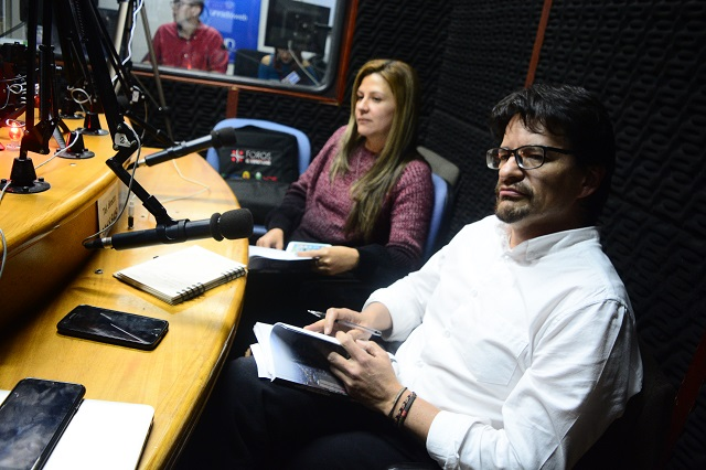 Profesores Yency Contreras y Diego Peña en Observatorio Gobierno Urbano