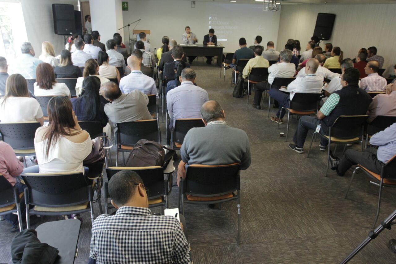 Presentación del PEMOT a consejos metropolitanos / Foto Fredy Amariles