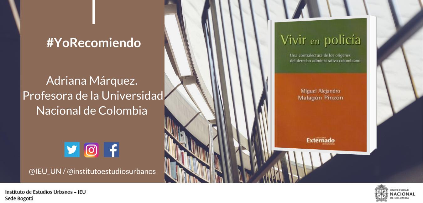 """#YoRecomiendo El libro """"Vivir en policía"""""""